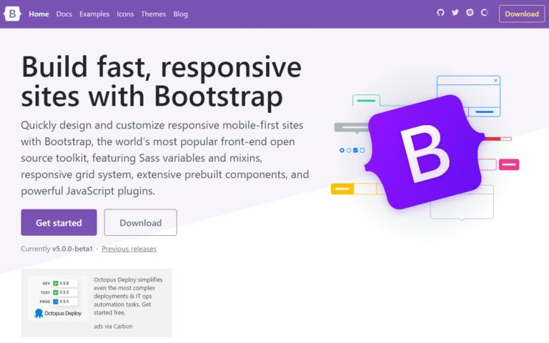 bootstrap 5 正式版はまだですかね